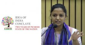 Shehla Rashid at Idea Of India Conclave 2016