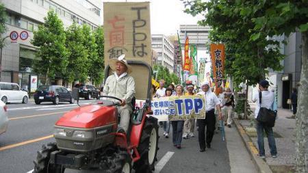 Anti-TPP protest, 2013