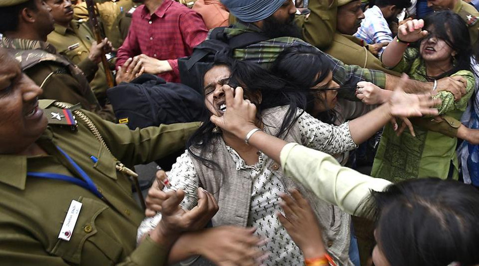 Ramjas Protest