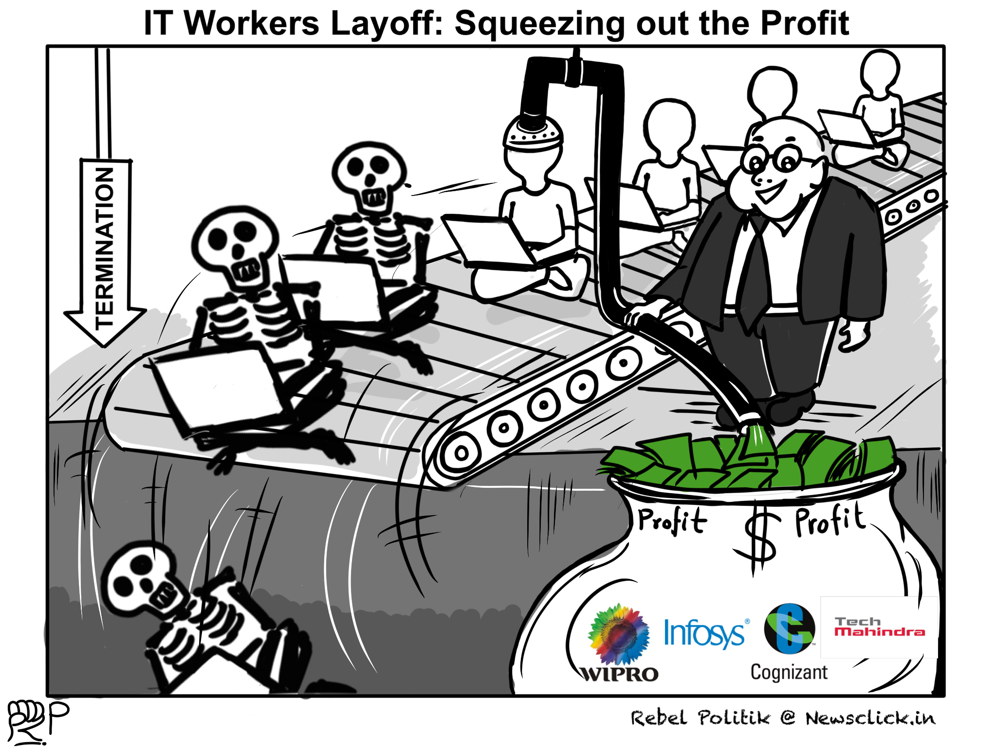 IT Workers Layoff: Squeezing Out the Profit | NewsClick