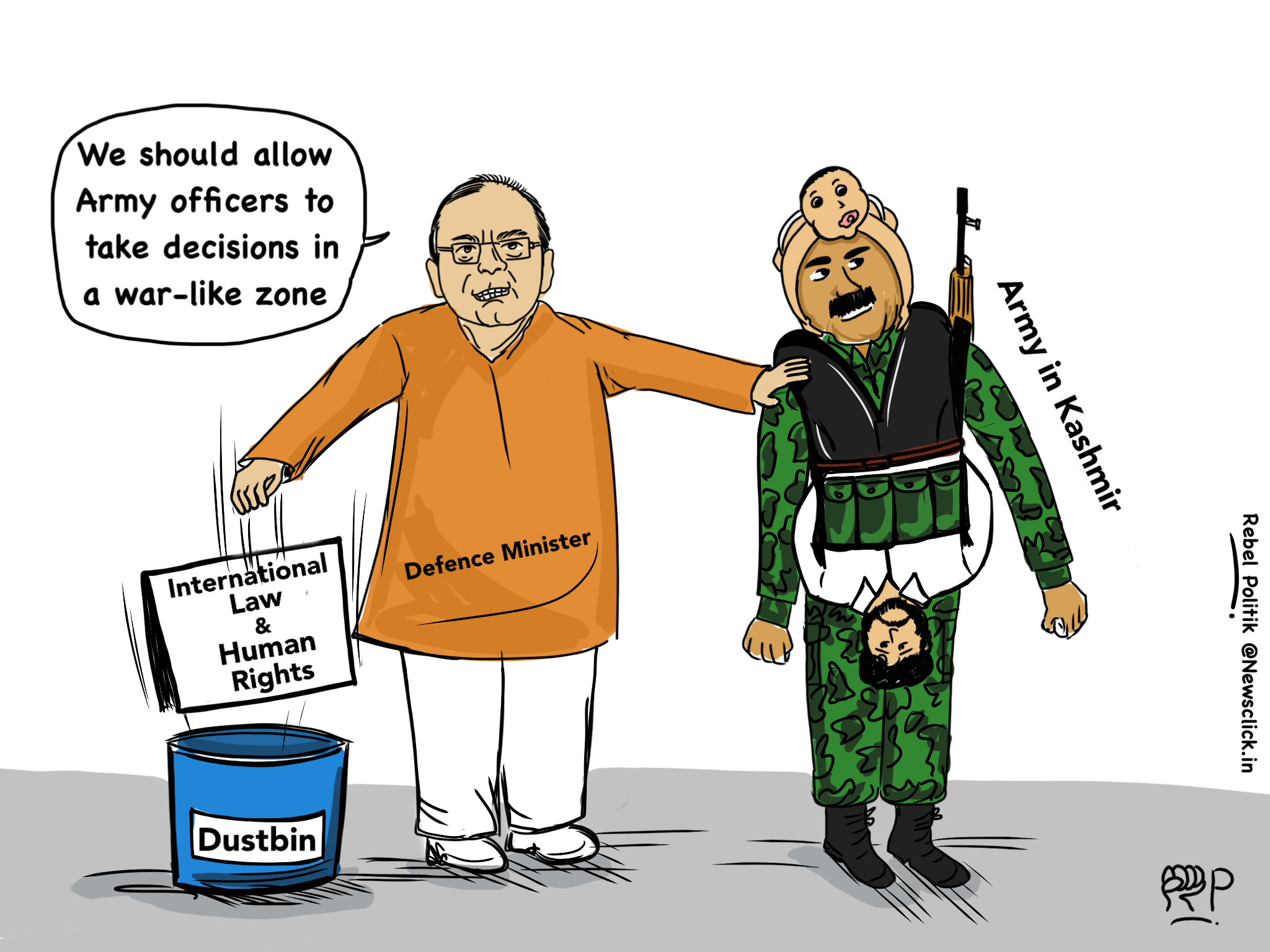 Jaitley cartoon