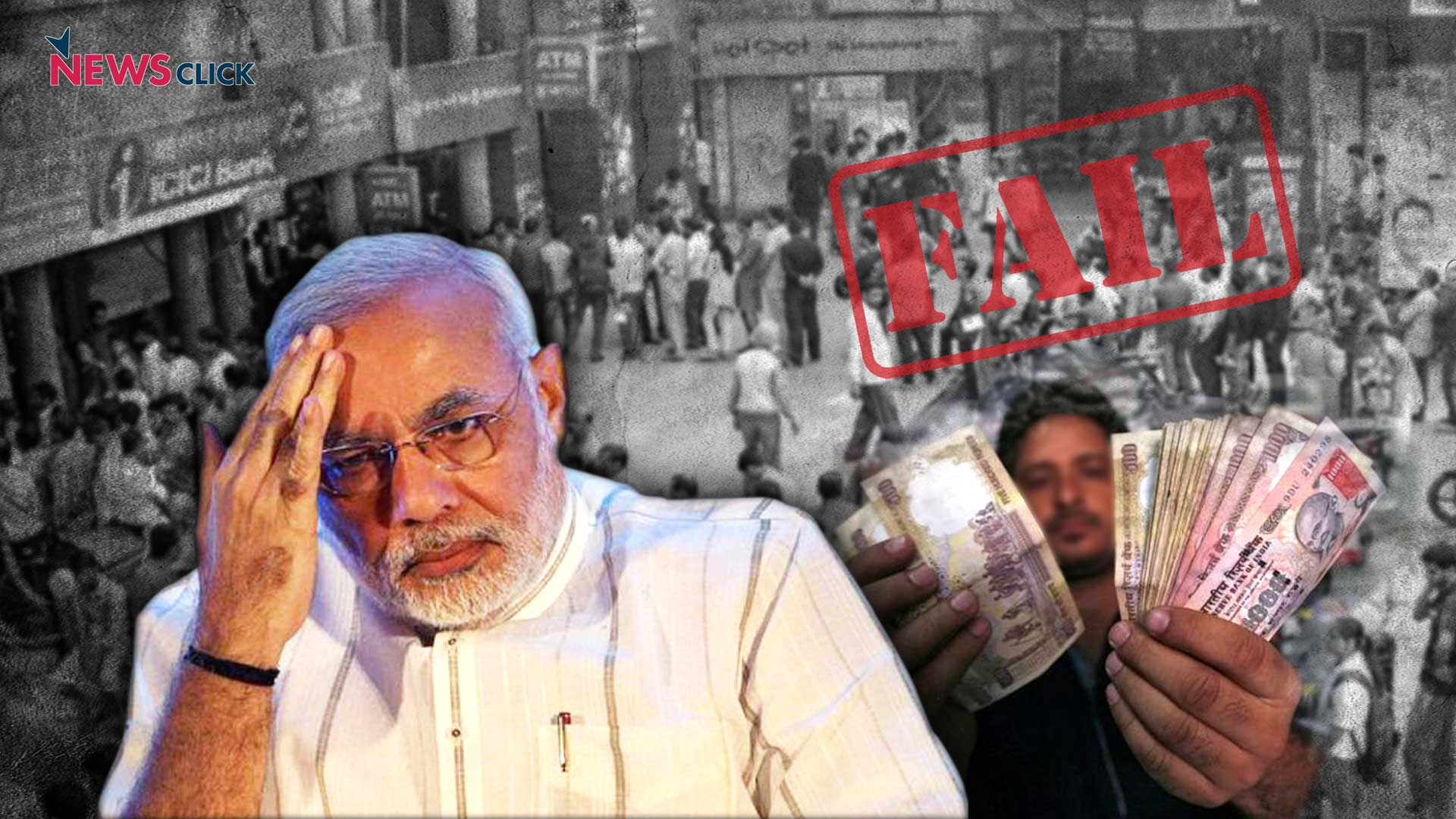Demonetisation Failed: The Emperor is Naked