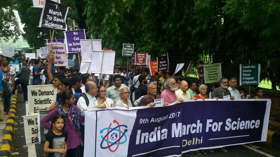 India March for Science: People Occupy Streets Against Unscientific Ideas