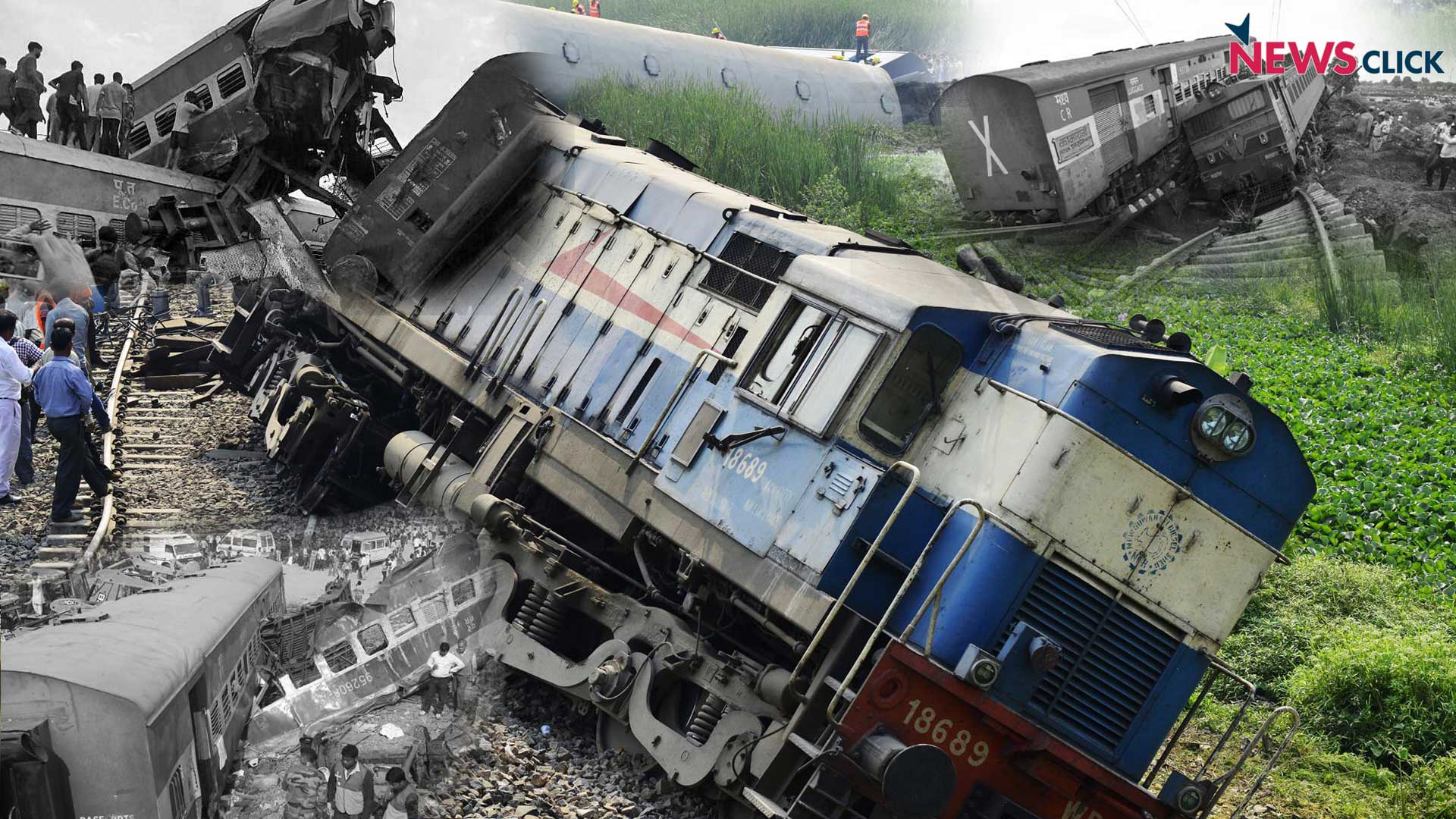 Deaths in India Due to Train Derailments in 2016-17 the ...  Indian Railway Accidents