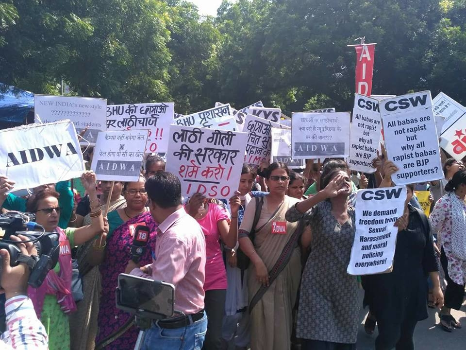 Delhi Stands with BHU: Demands Swift Action and a Gender-Sensitive Body