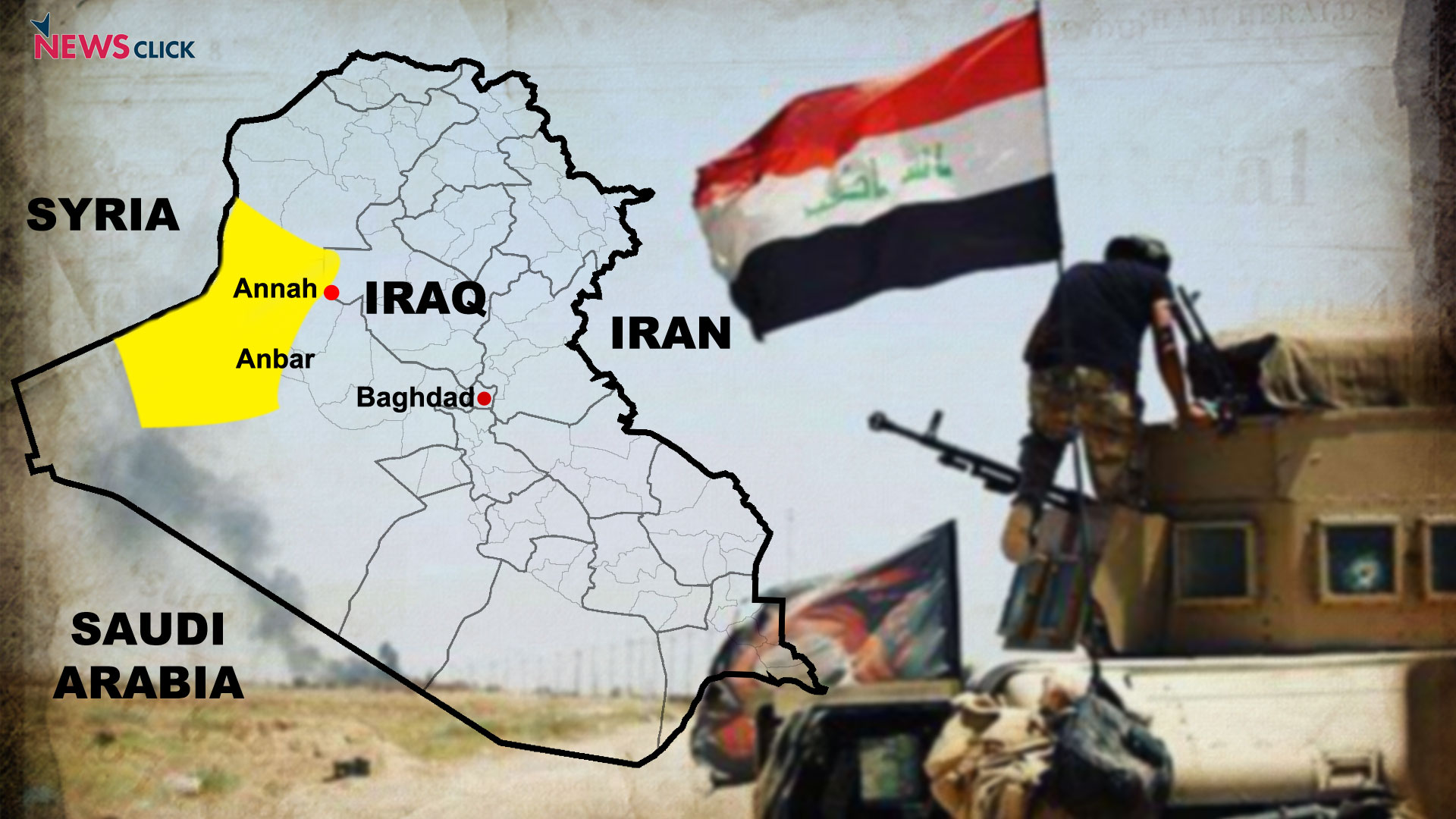 Iraqi forces launch offensive against IS in Anbar