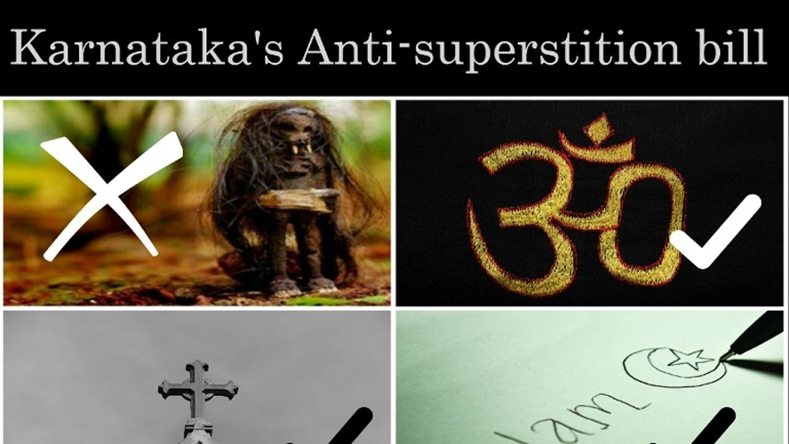 Karnataka's Anti Superstition Bill