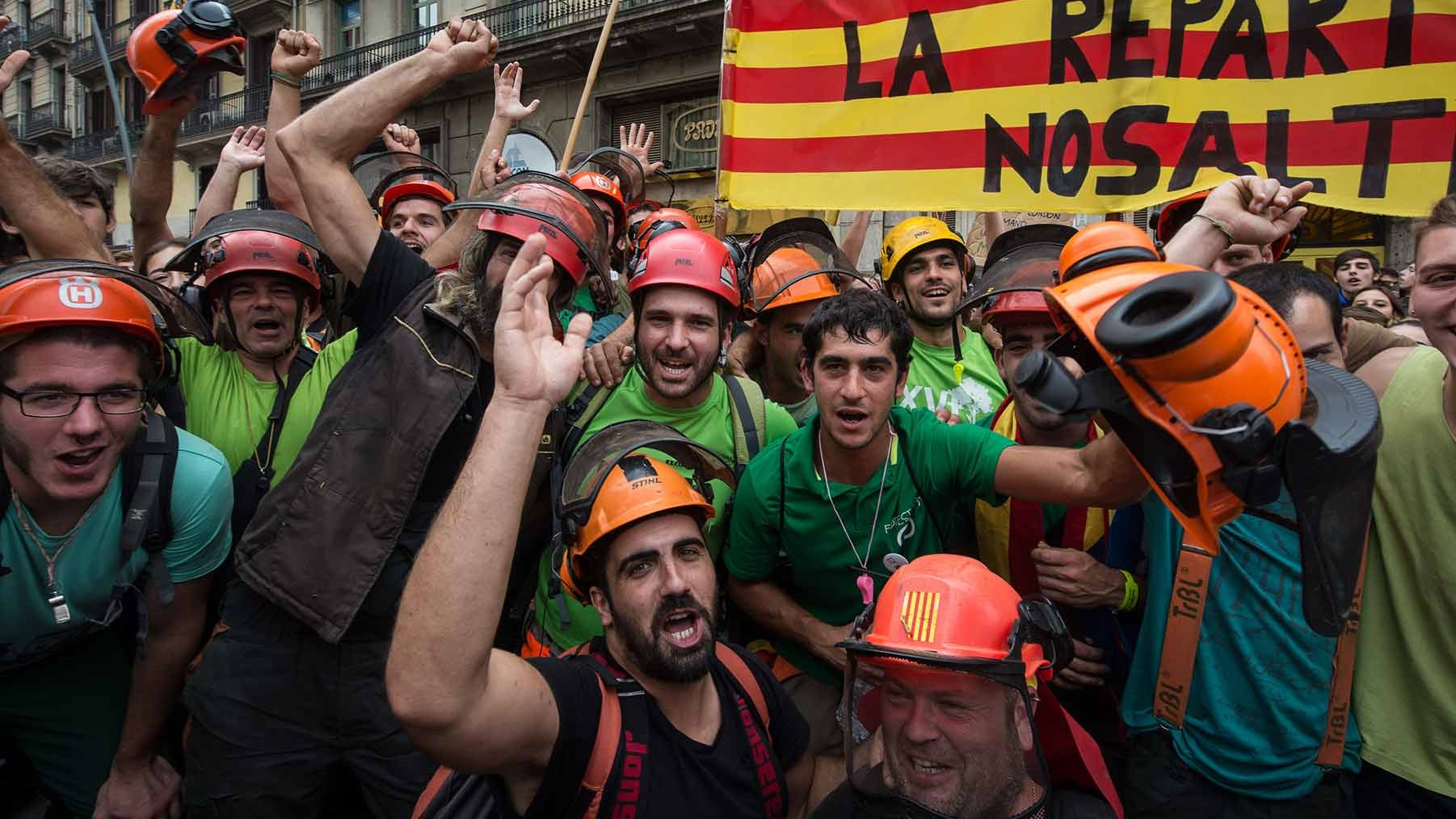 Catalan General Strike, 3 October 2017