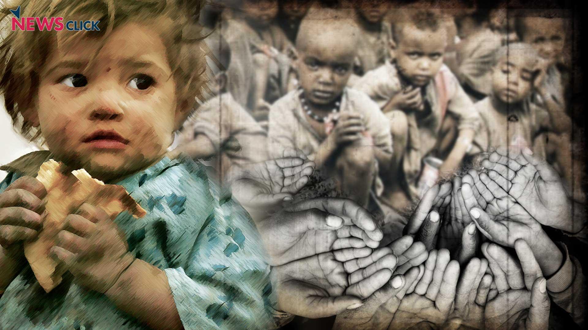 hunger haunts 20 crore indians as modi sarkar sleeps
