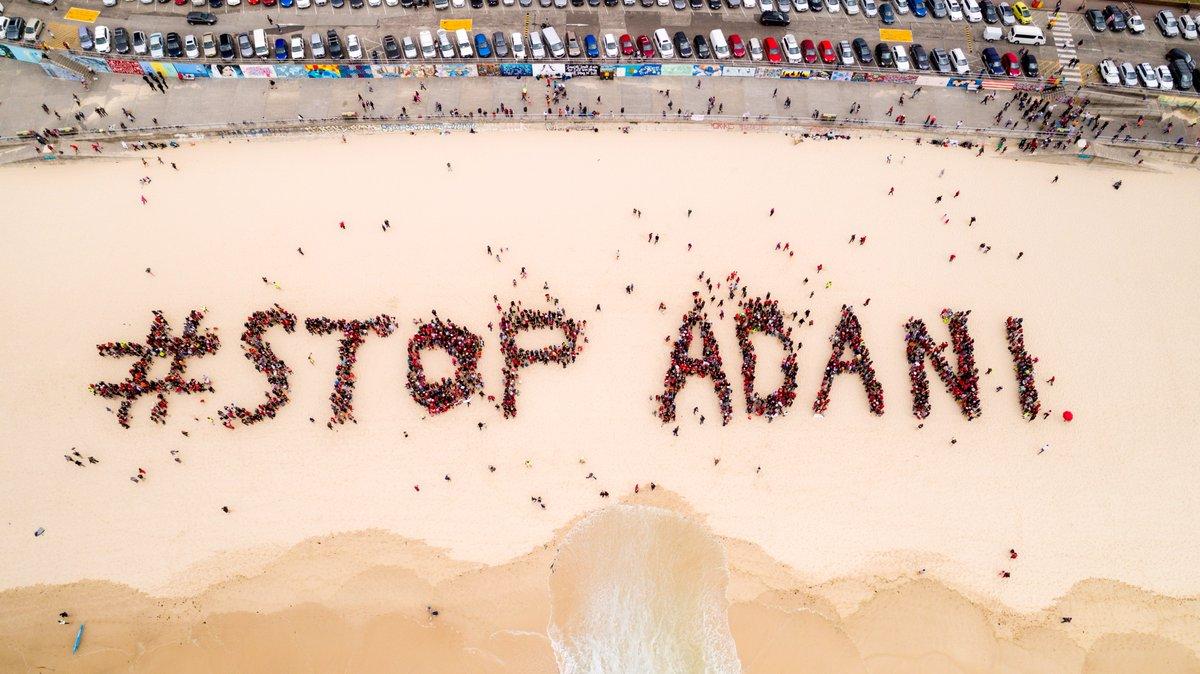 Image result for stop adani photos in australia