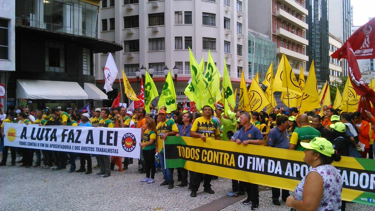 Brazil Labour Protests