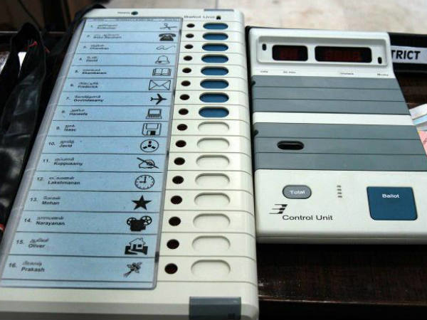 UP civic polls 1st phase records 52.85% voting ; Protest erupts over EVMs