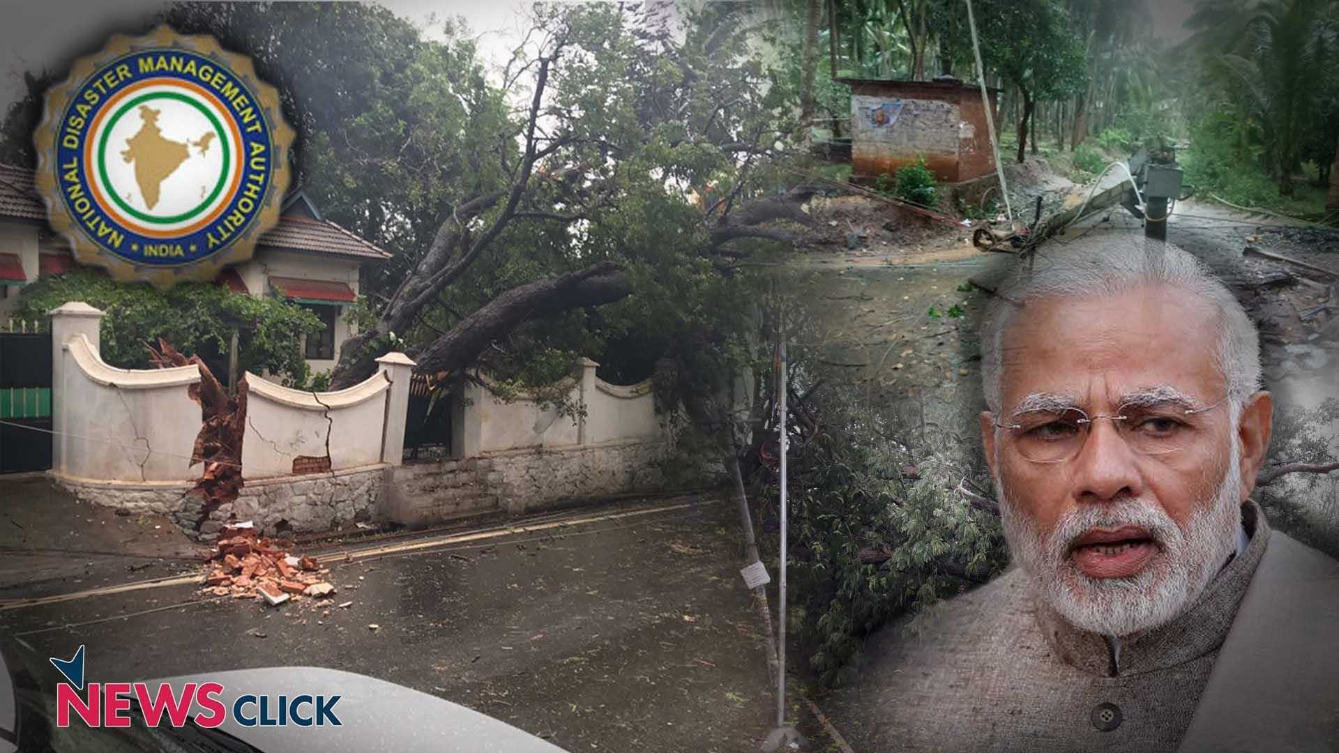 Congress walks out of Lok Sabha over Ockhi