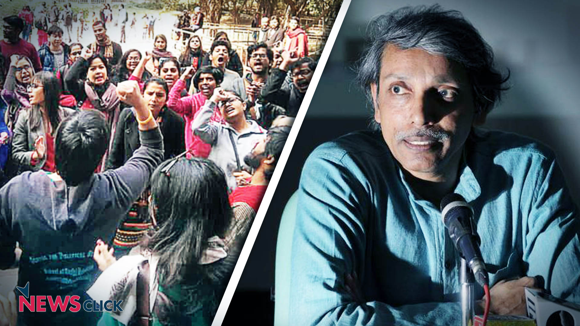 FIRs registered against JNU students for wrongful restraint