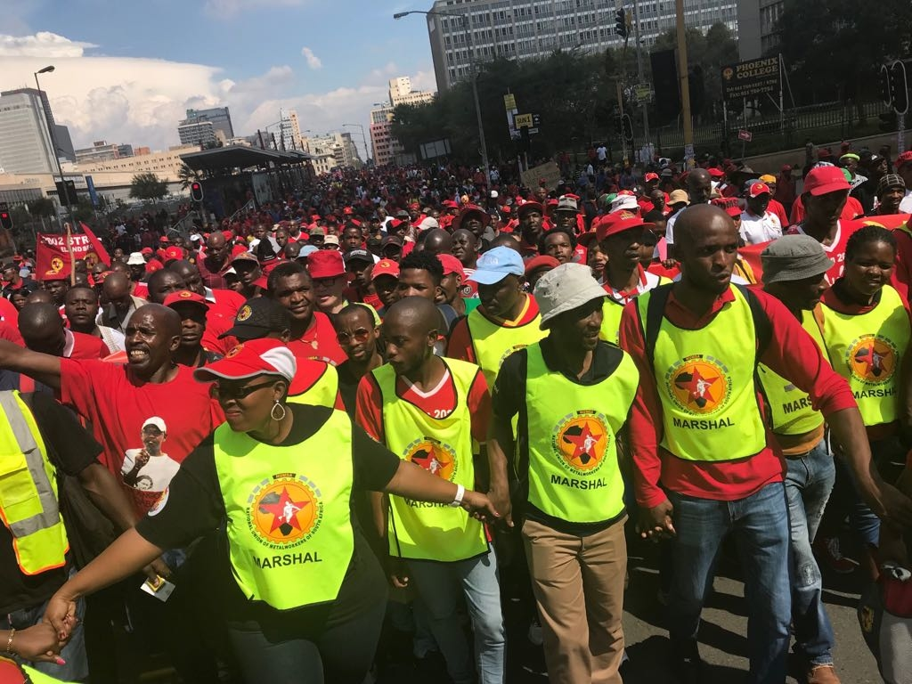 South Africa: Trade Unions Call for General Strike on April 25 against Anti-Labour Reforms