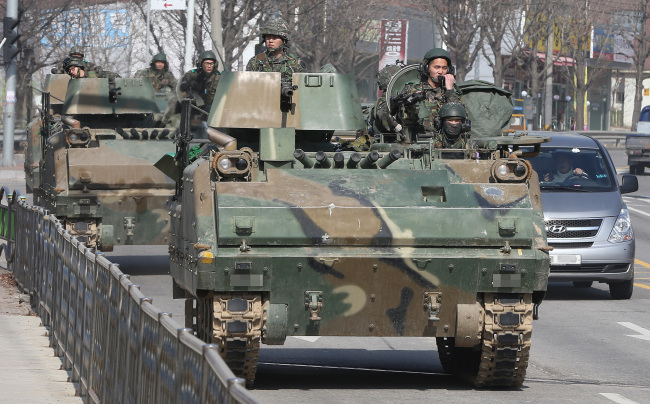 South Korean military exercises to begin April 1