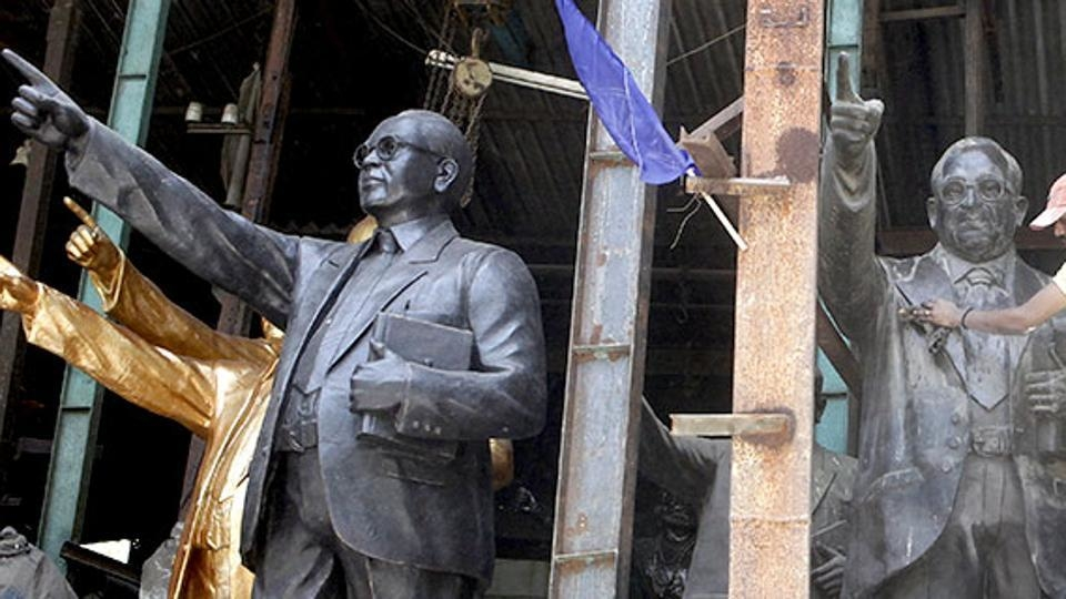 Four Ambedkar statues vandalised in Uttar Pradesh