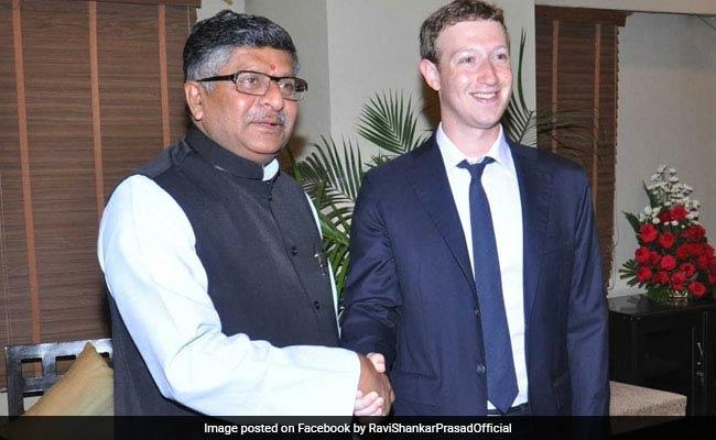 Rahul says Law Minister 'peddling fake news', Prasad hit back