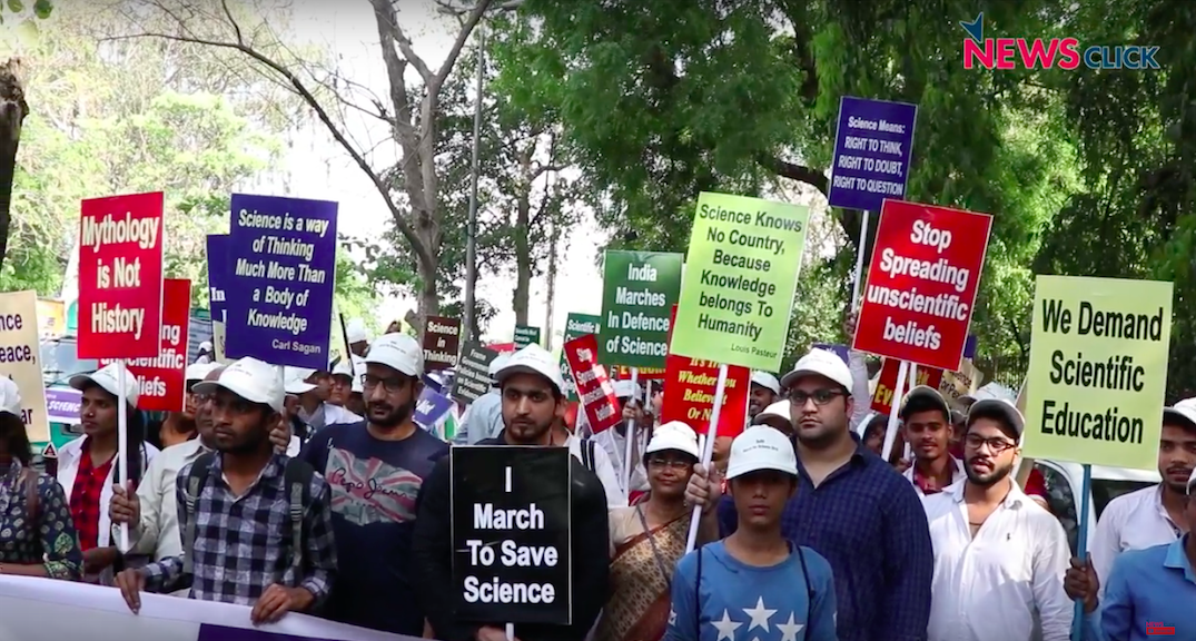 Delhi march for science