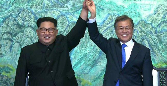 No More War in the Korean Peninsula, Declare Kim, Moon