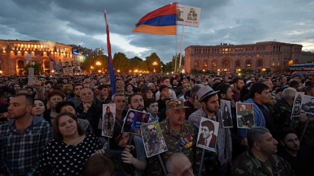 Revolution sweeps Armenia opposition leader into power