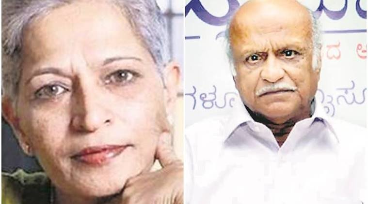 Gauri Lankesh and Kalburgi