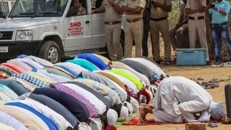 Restricted to 23 venues, several missed namaz in Gurgaon today
