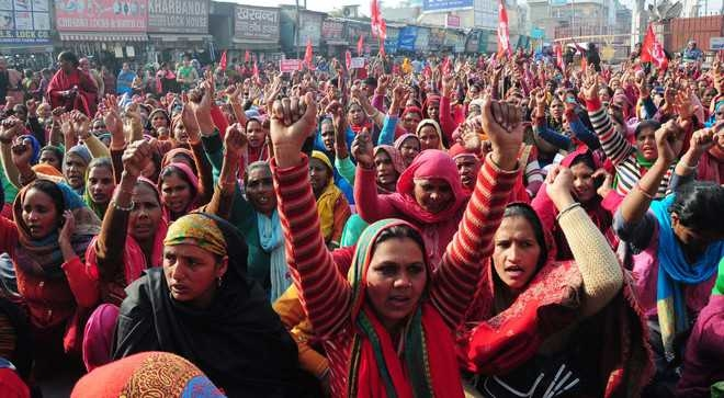 cheme Workers Protest