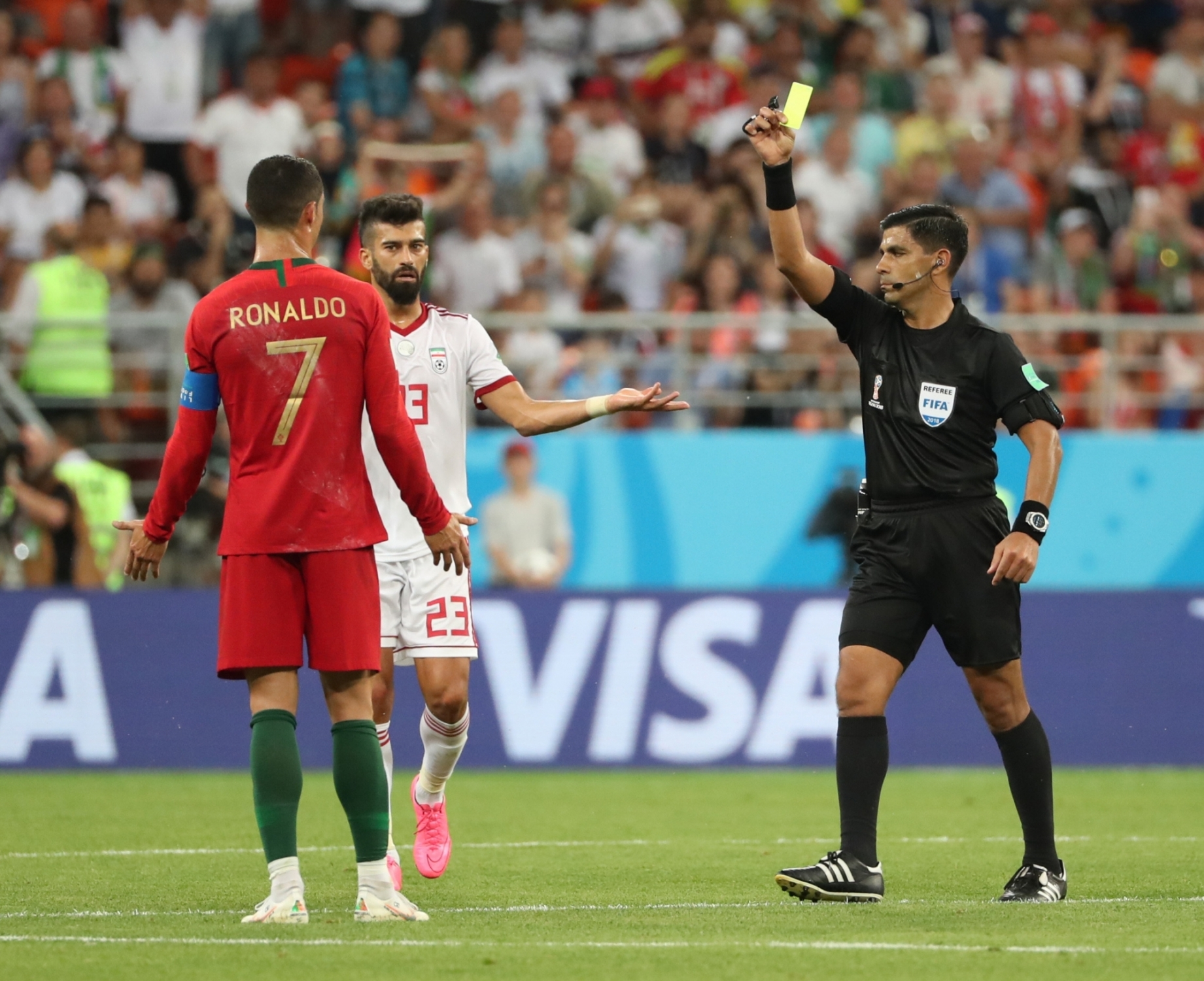 Portugal's Cristiano Ronaldo vs Iran at FIFA World Cup
