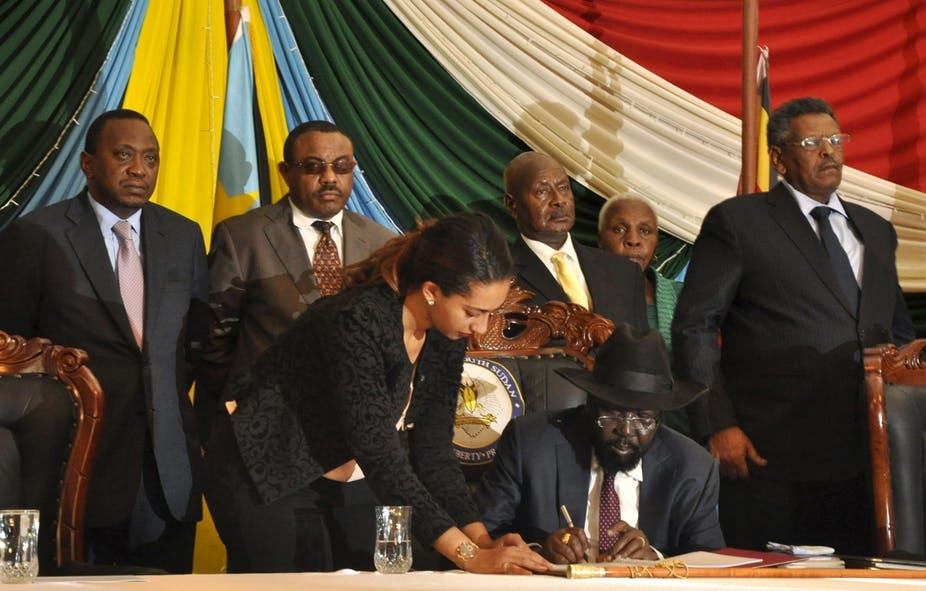 Peace Agreement Signed In South Sudan Newsclick