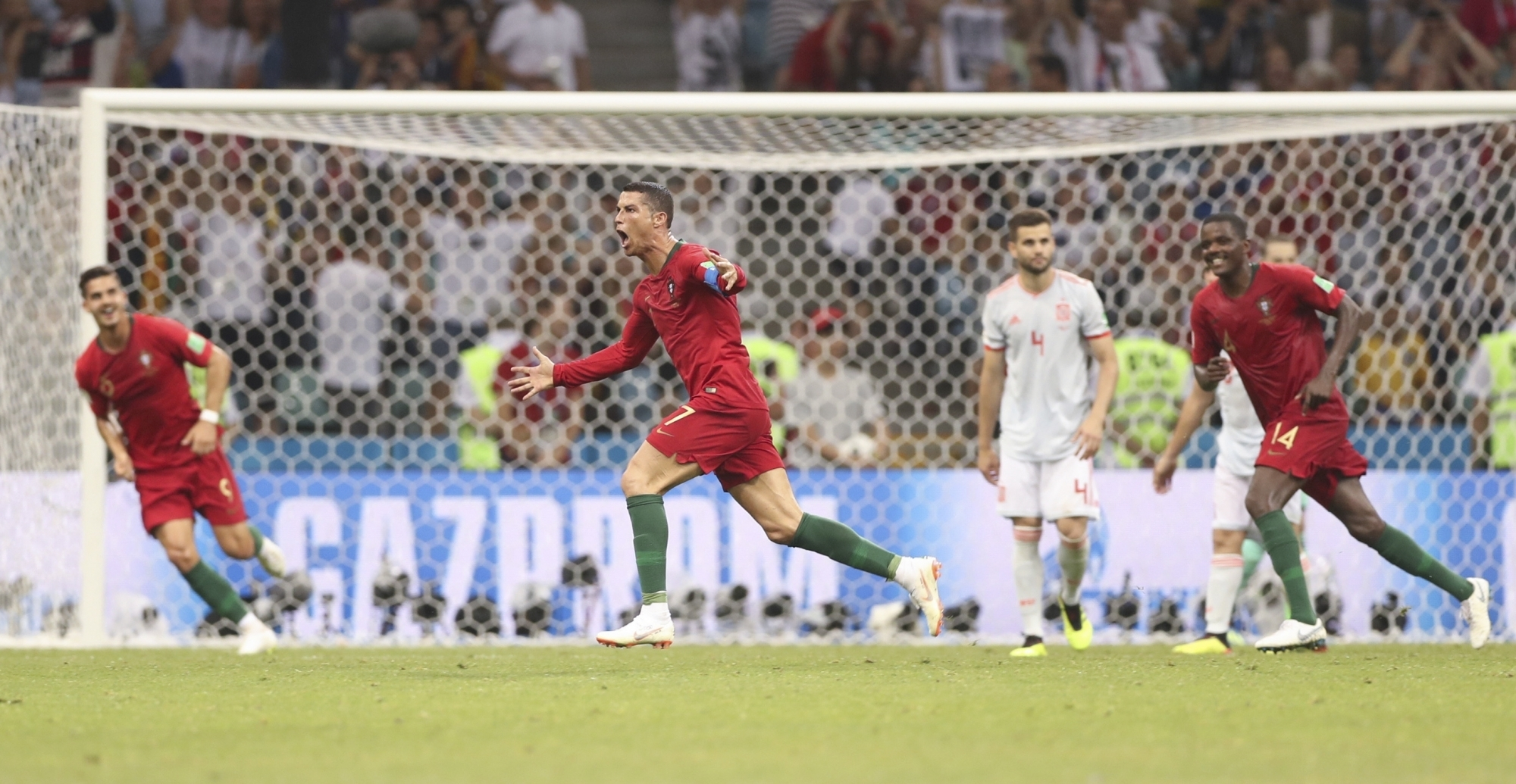 Ronaldo hat-trick earns Portugal stunning draw with Spain