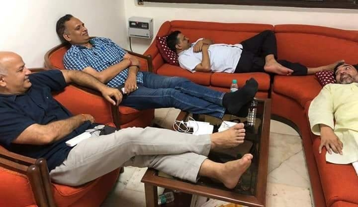 Delhi IAS Officers Strike