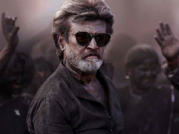Rajinikanth in a still from the trailer of Kaala
