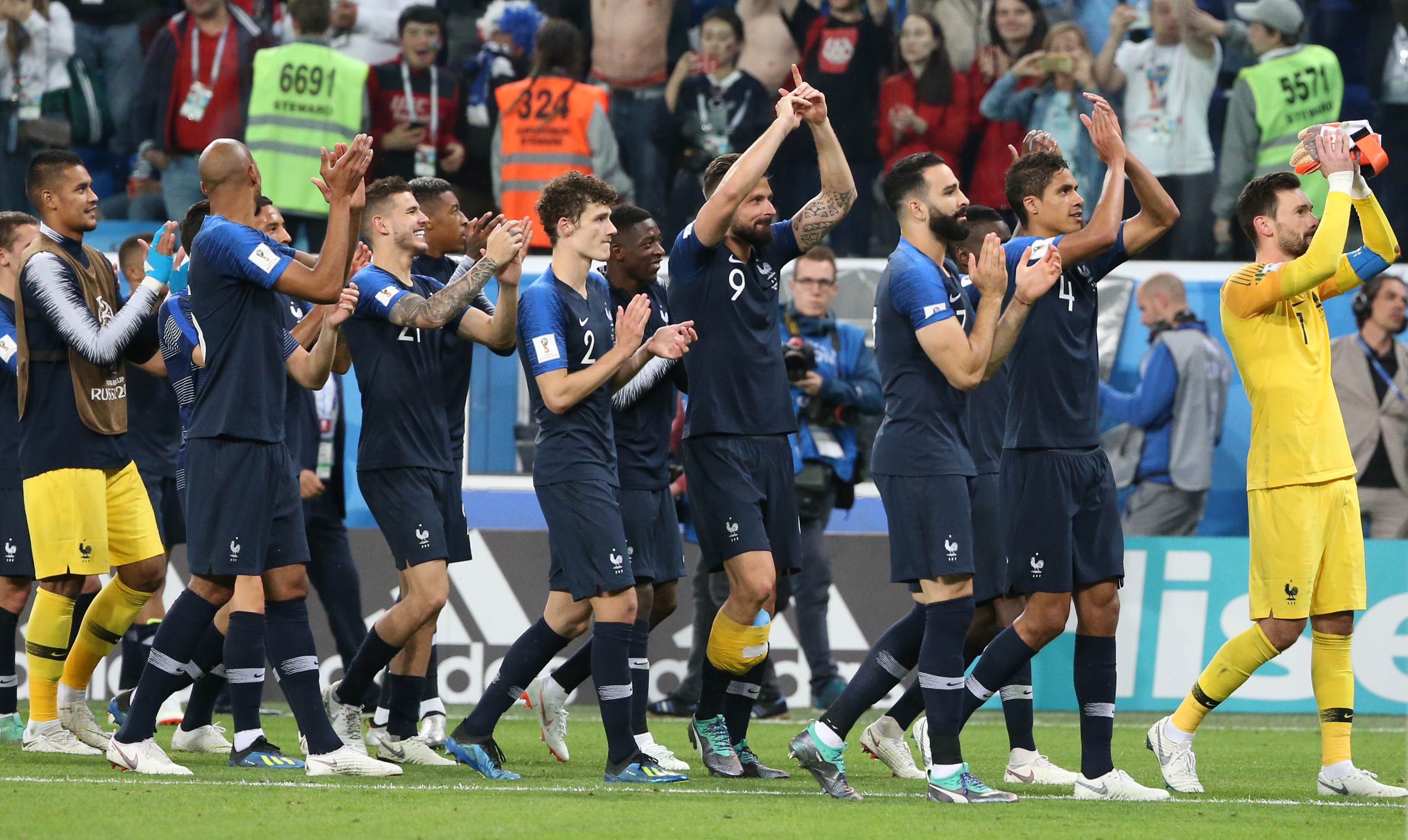 France football team at FIFA World Cup