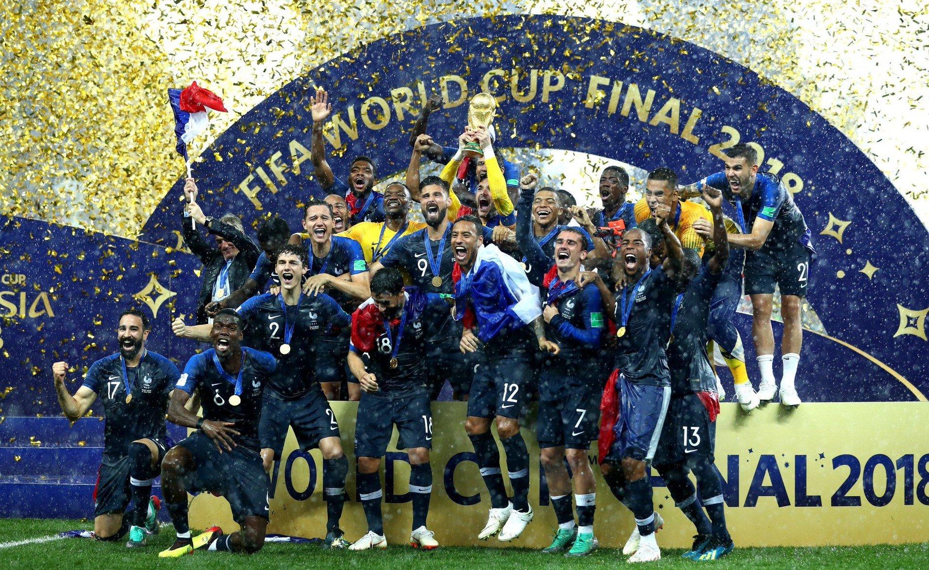 """Résultat de recherche d'images pour """"Football, mondial 2018, France, victory, 2018"""""""