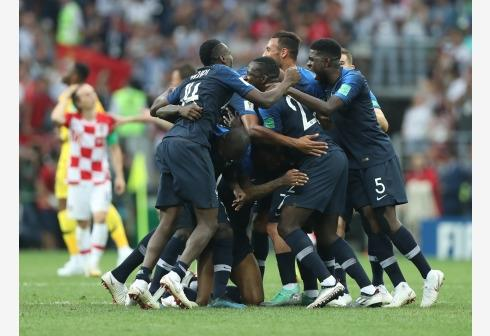 France vs Croatia FIFA World Cup