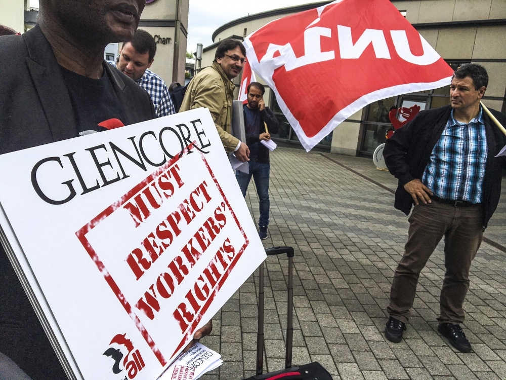 Rights violations by Glencore