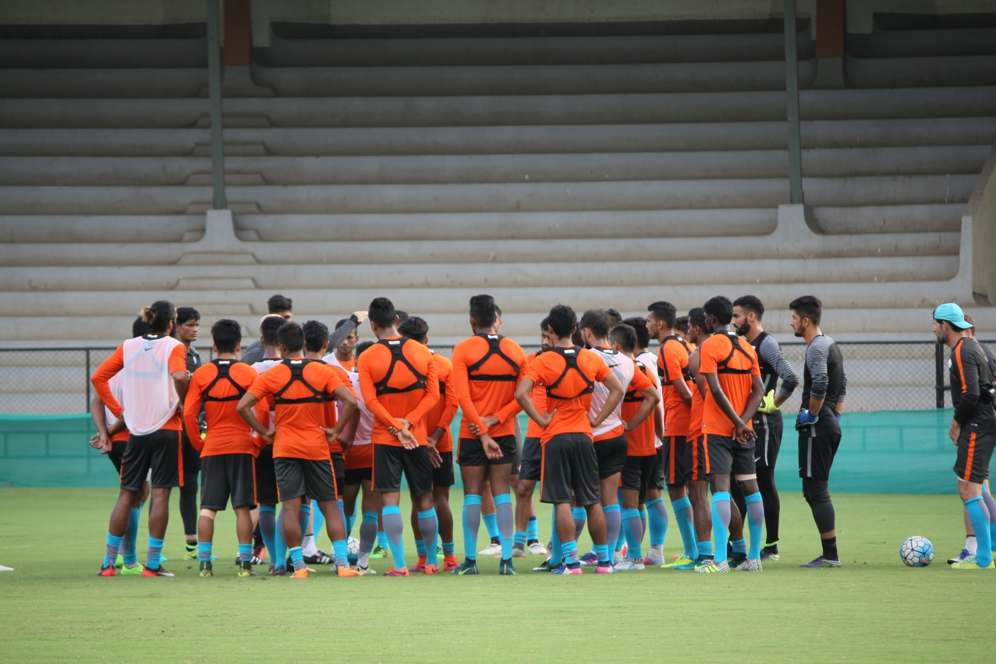 Indian football team won't play 2018 Asian Games.