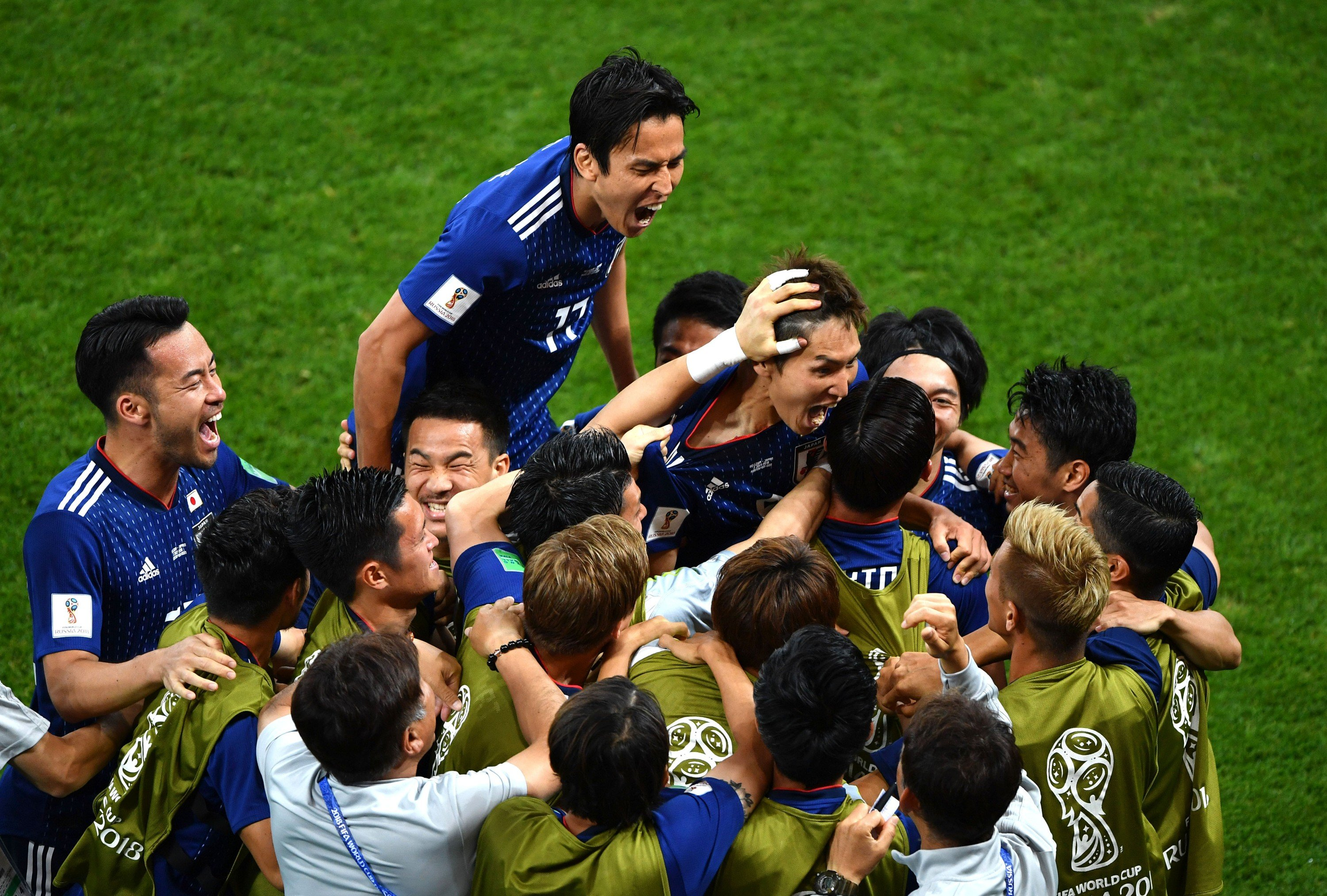 japanese football team s world cup show a lesson for asian teams