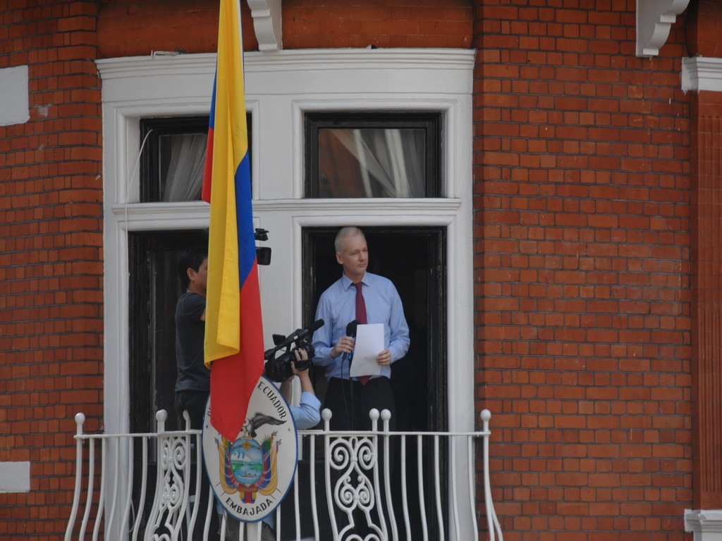 Ecuador's president seeks Assange exit from London embassy