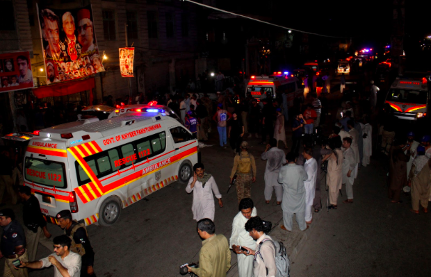 20 Killed, 60 Critically Injured in Suicide Attack in Peshawar