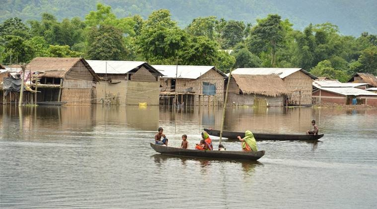why assam really needs to worry about the flood  newsclick assam floods