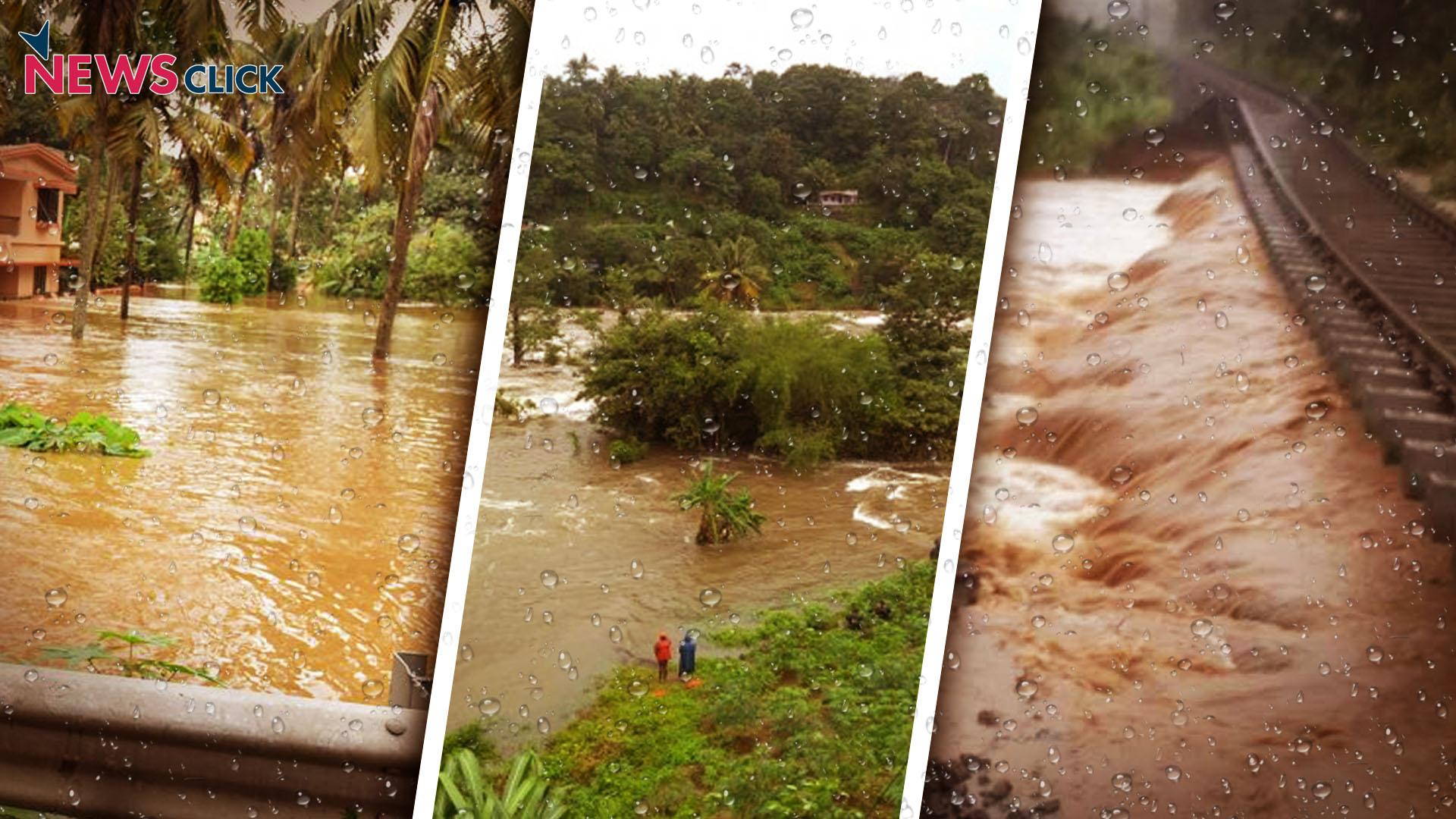 kerala floods 255 excess rainfall in one week newsclick