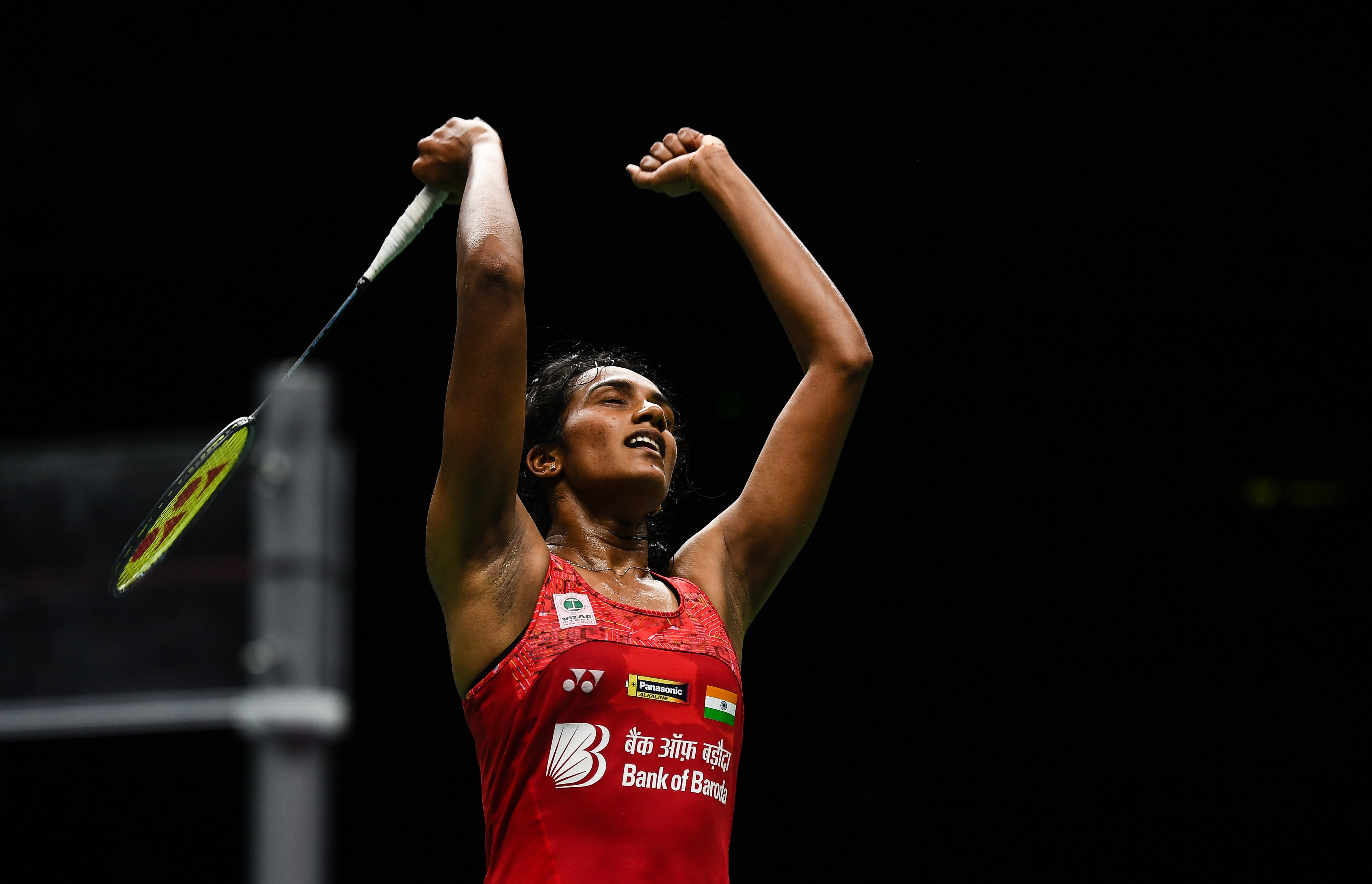 PV Sindhu at Asian Games 2018