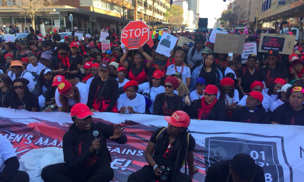 South Africa protest against rape culture