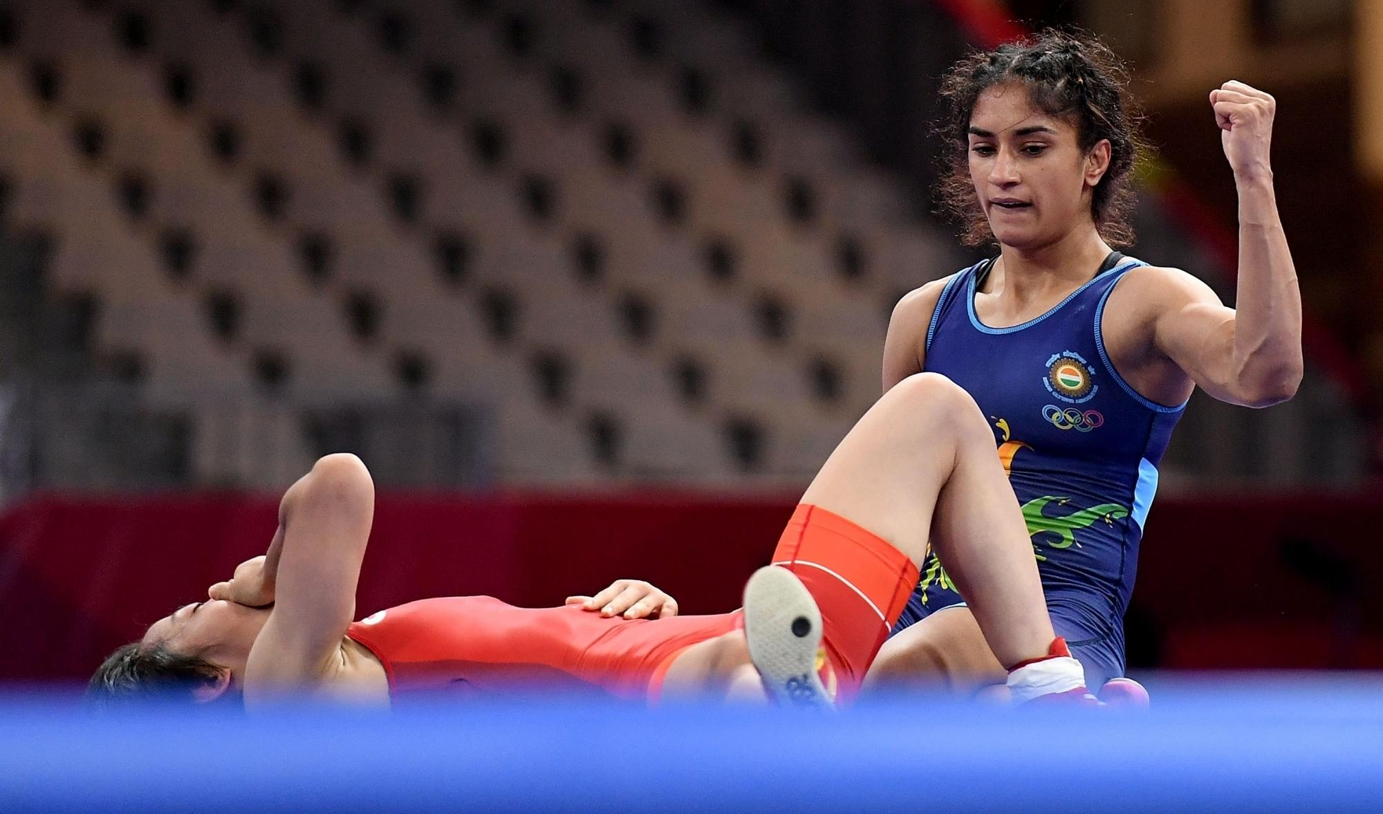 Vinesh Phogat Asian Games gold