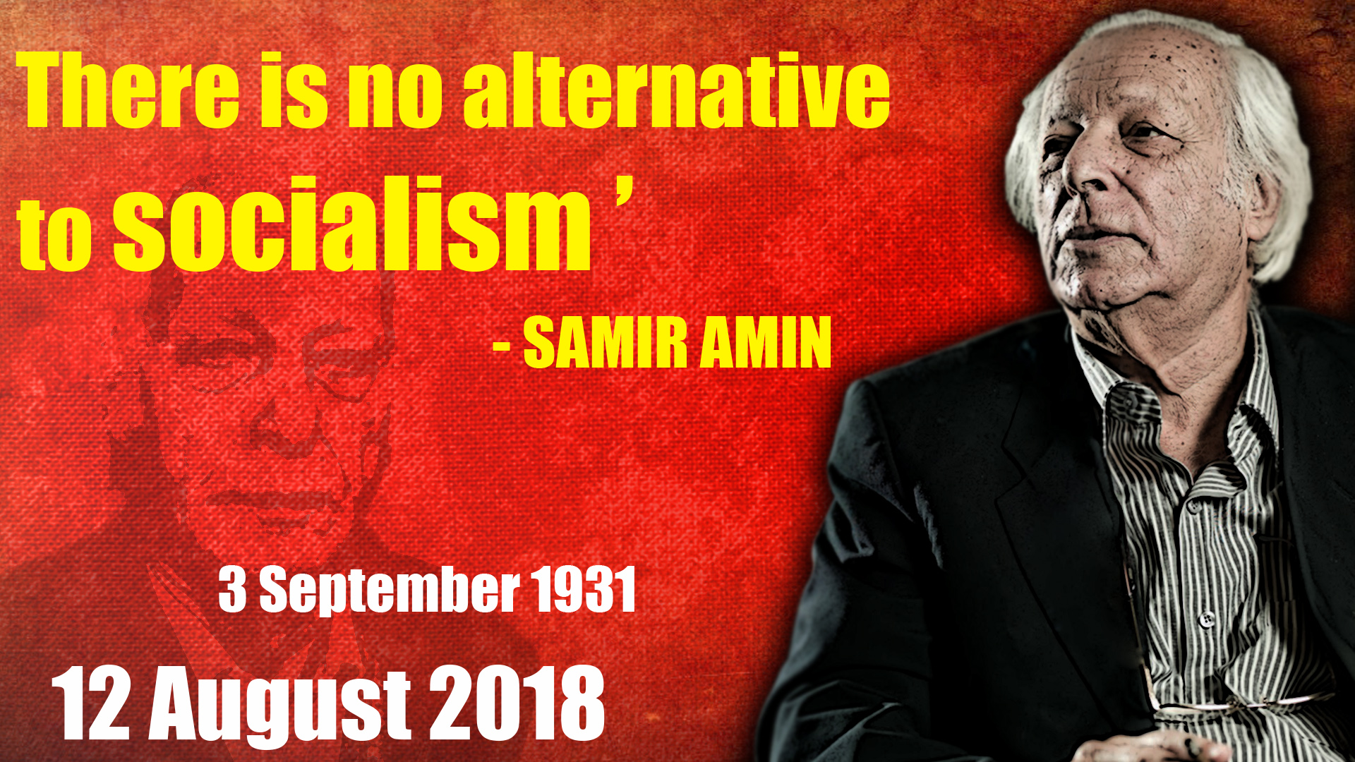 Image result for samir amin