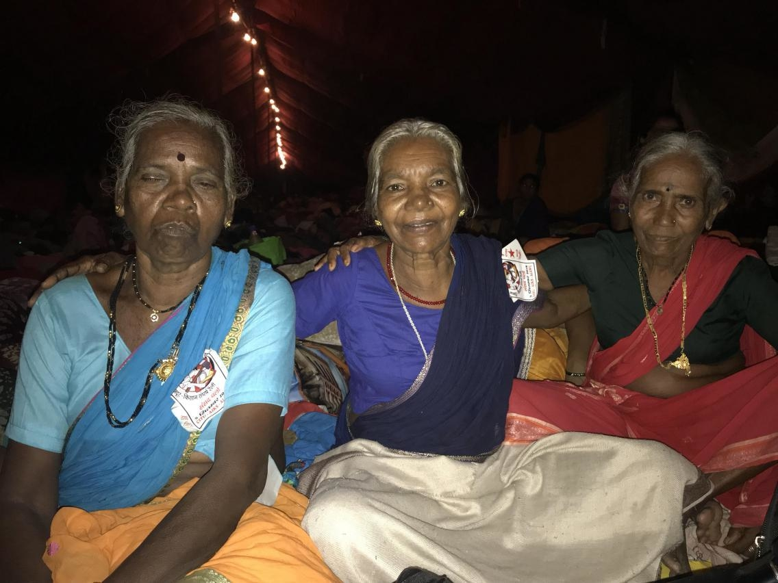 3 elderly women travel 200 kms
