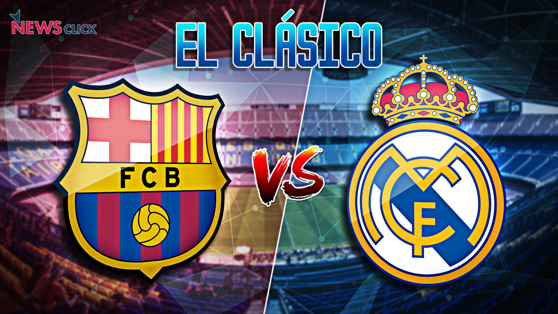 buy online ccc25 a46ac El Clasico La Liga clash between FC Barcelona and Real Madrid