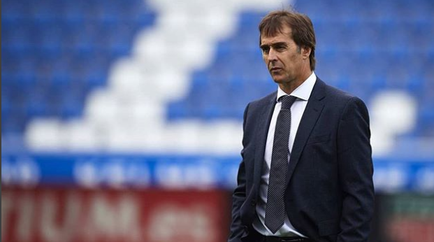 Real Madrid manager Julen Lopetegui